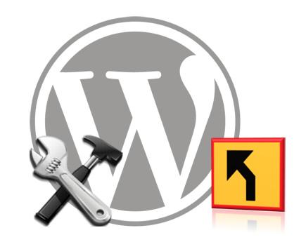 WordPress. Redireccionar etiquetas con una sola entrada a la página principal