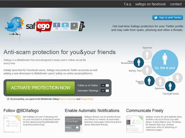Safego un antivirus gratuito para protegernos en las redes sociales