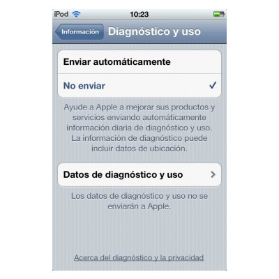 Desactivar Carrier IQ en los dispositivos que tengas iOS