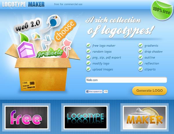 Como crear logos de forma online con Logotype Maker