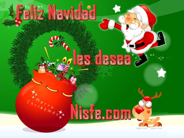 Nisfe.com les desea una muy Feliz Navidad a todos
