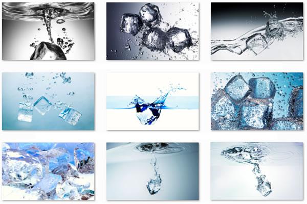 Ice Water theme para Windows 7