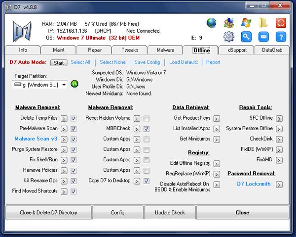 Nos permite modificar la configuración cuando Windows no se inicia