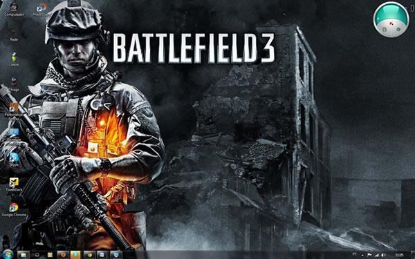 Tema para Windows 7 del juego Battlefield 3