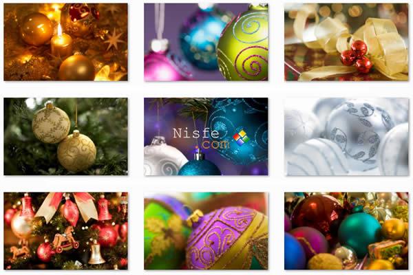 Dos temas para Windows 7 sobre Navidad