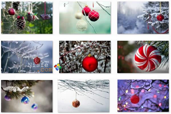 Dos temas para Windows 7 sobre Navidad de Microsoft
