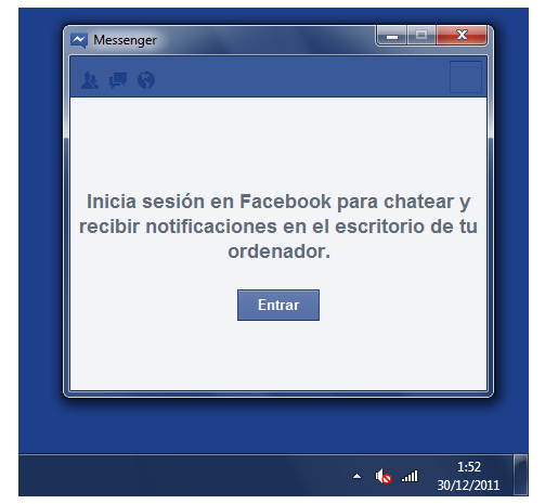 Facebook Messenger para Windows 7  filtrado y disponible para su descarga