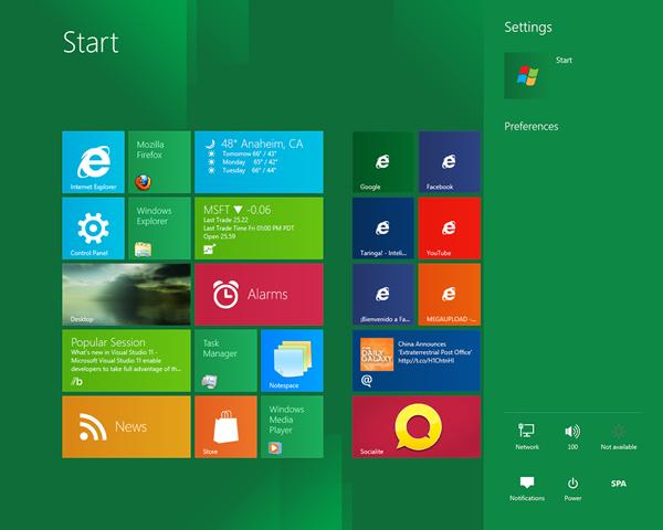 Disponible para su descarga la versión de Windows 8 Releasse anunciado hace unas horas
