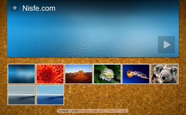 Crear álbum de fotografías y publicarlo en internet con JAlbum