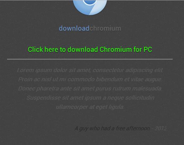 Descargar Chromium navegador web de código abierto