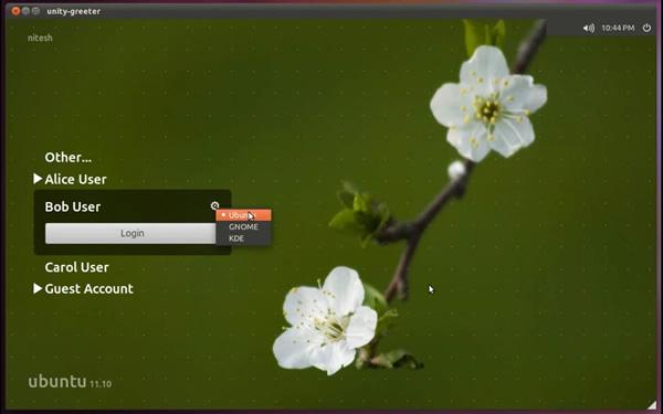 Adapta el inicio de sesión con el fondo de pantalla de cada usuario. LightDM Unity Greeter