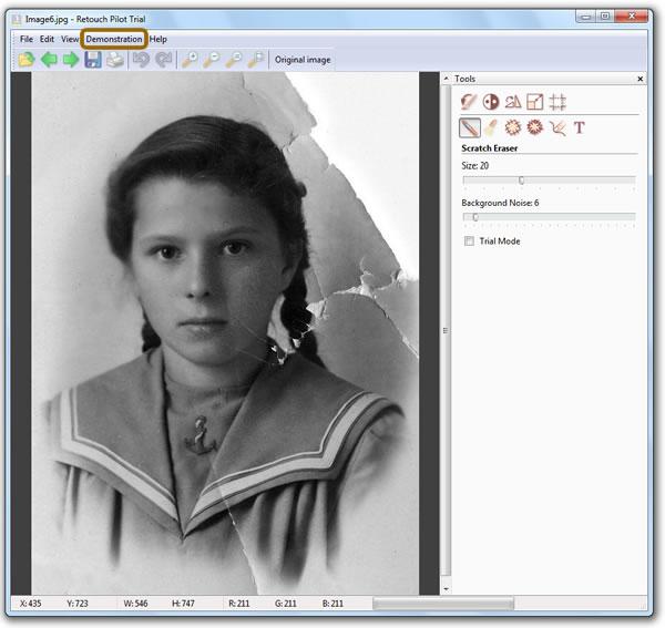 Restaurar imágenes y fotografías viejas con Retouch Pilot