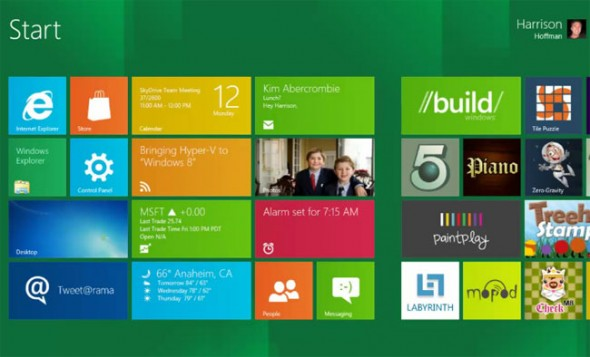 Windows 8 Beta para finales de febrero y se llamara Windows 8 Consumer Preview