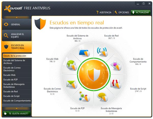 Avast! Free Antivirus 7, actualizaciones por Streaming, acceso remoto y más