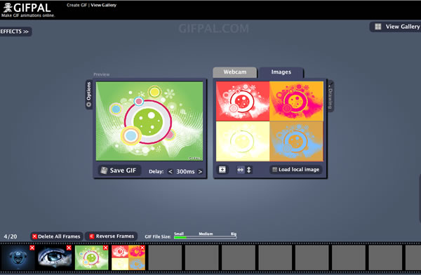 Como crear un GIF animado de forma online con GIFPAL