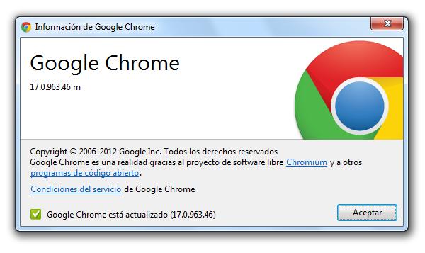 Google Chrome 17 más rápido y con protección para las descargas