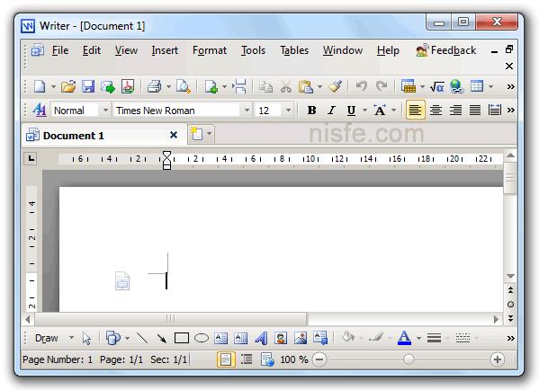 Kingsoft Writer de KingSoft Office Suite Free 2012