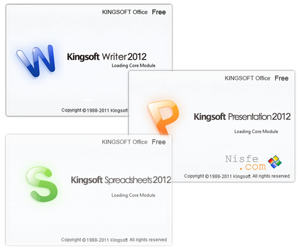 KingSoft Office Suite Free y Professional 2012