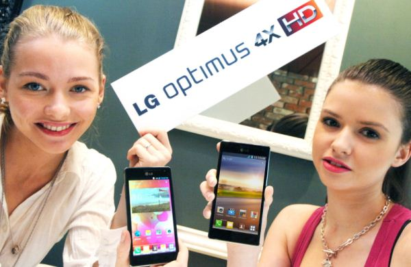 LG Optimus 4XHD con procesador Nvidia Tegra 3 de 4 núcleos