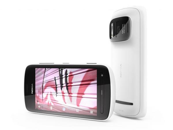 Nokia 808 PureView, teléfono Nokia con una cámara de 41 megapíxeles