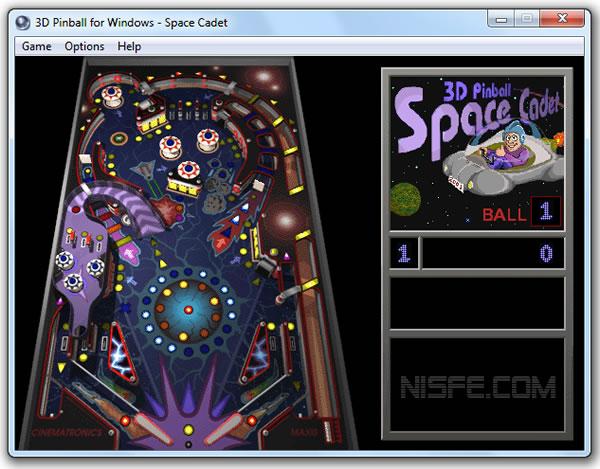 El clásico juego de Pinball original para Windows 7