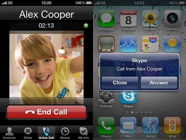 Realiza Videollamadas y llamadas gratis con Skype en el iPhone, iPod touch, y el iPad