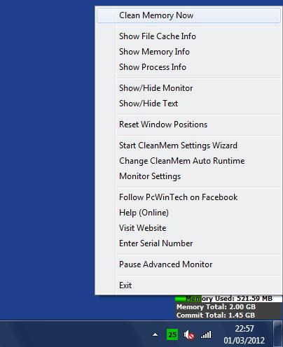 Como liberar la memoria RAM de Windows aumentando su rendimiento