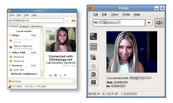 Ekiga, llamadas y videoconferencias de forma gratis