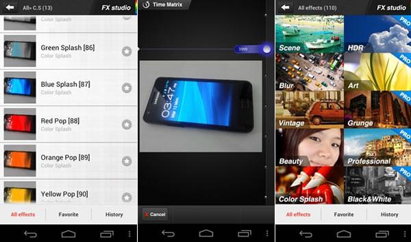 FX Photo Editor, completo editor de fotografías para Android