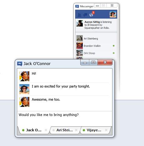 Facebook Messenger para Windows 7 disponible para su descarga