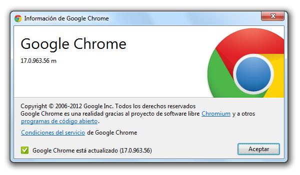 Google Chrome, nueva actualización con mejoras en la seguridad del navegador