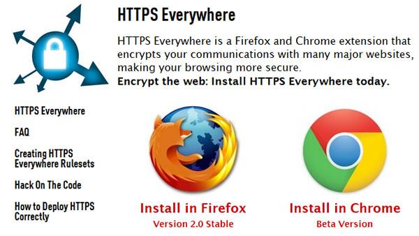HTTPs Everywhere, navegación más segura en Google Chrome con esta extensión