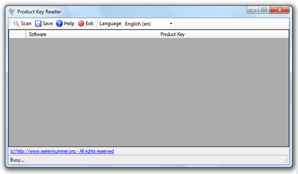 Product Key Reader, guarda las licencias de tus programas instalados