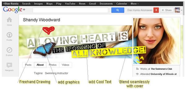 CoverPhotoEditor, crea una imagen para la portada de Google+