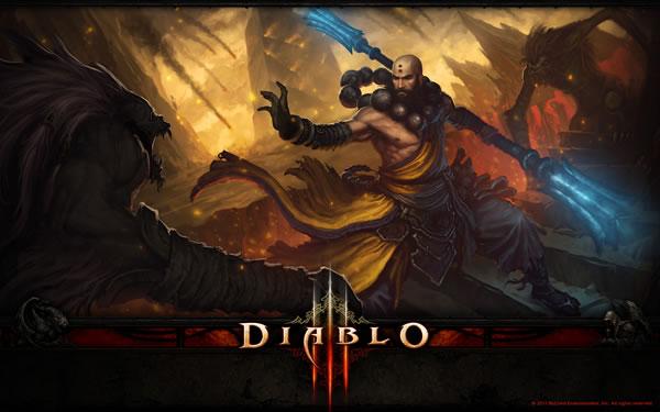 Diablo III, Nuevo video que muestra al personaje Monje