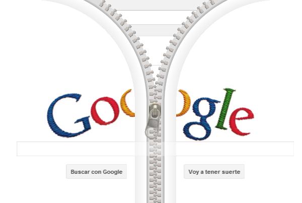 La cremallera de Gideon Sundback es el Doodle de Google