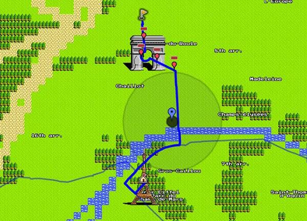 MapsTD, tower defense basado en la versión de 8 bits de Google Maps