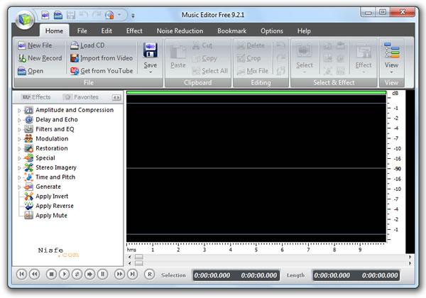 Music Editor Free, programa gratuito para editar audio y sonido