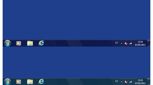 Cambiar el color de la barra de tareas y de las ventanas de Windows 7 de forma automática con AeroRainbow
