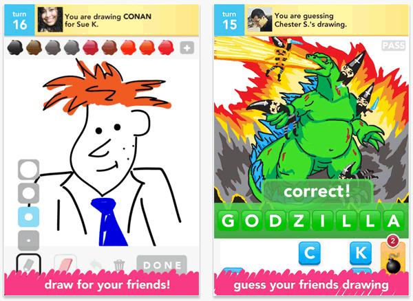 Draw Something Free adivina lo que tu amigo está dibujando en su móvil