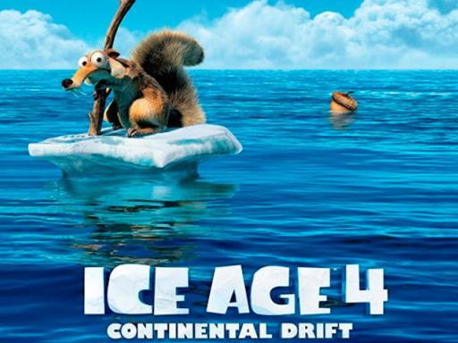 La formación de los continentes según el tráiler de la era de hielo 4