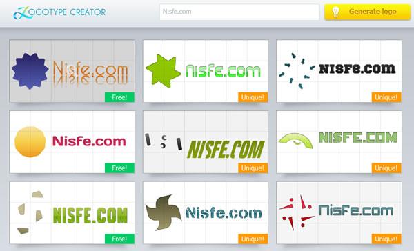 Logotype Creator, crea y genera tus logos online sin dificultades