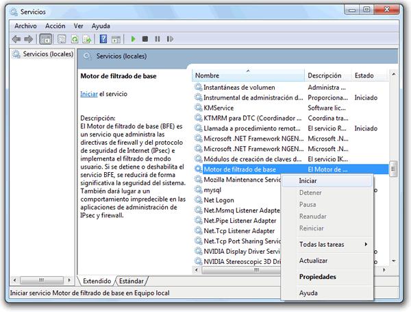Como solucionar el Error 0x80070424 de Windows