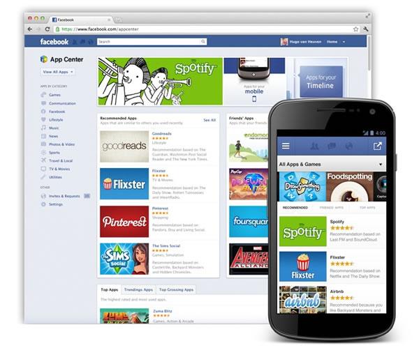 App Center de Facebook, la tienda de aplicaciones móviles  estará disponible en unas semanas