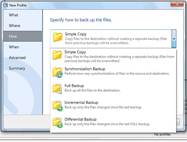 crear copias de seguridad de tus archivos
