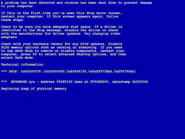 BlueScreenView, herramienta para analizar los pantallazos azules