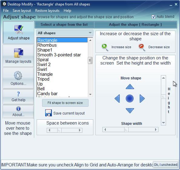 Configuración para ordenador tus accesos directos
