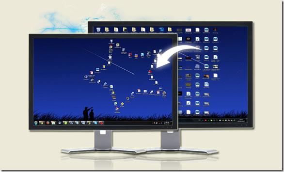 Organiza los iconos y accesos directos del escritorio con figuras  geométricas con Desktop Modify
