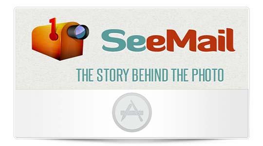 SeeMail, agregar breves locuciones de audio a tus imágenes en iOS