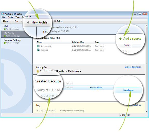 BitReplica, respalda tus archivos creando copias de seguridad de los mismos